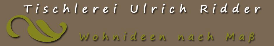 Tischlerei Ulrich Ridder